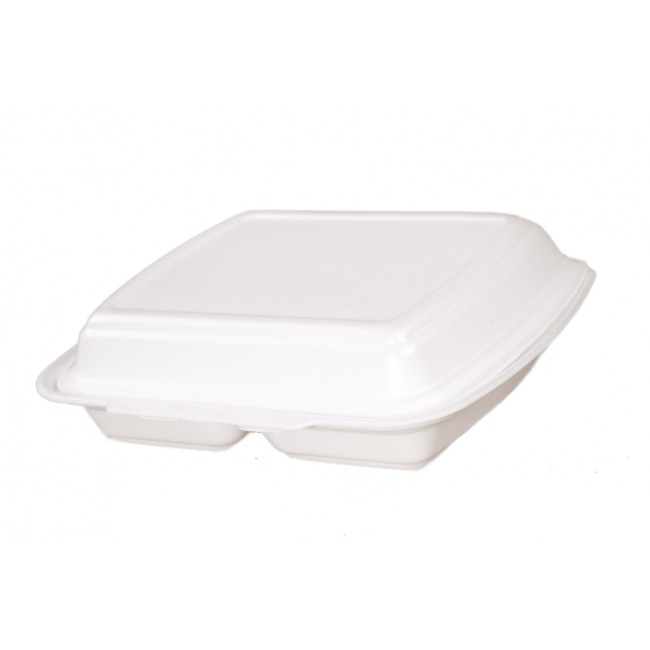 Hämtbox / Lunchlåda 2-sektioner