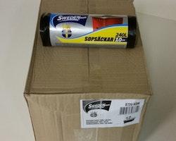 Sopsäck 240L 10-pack