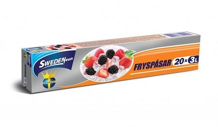 Fryspåsar, 3L 20-pack