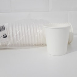 Pappersmugg vit, 29 cl 50-pack