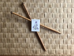 Jumperstickor/ bambu/ ca 25 cm/ 3,5 mm