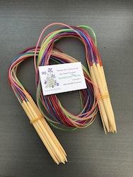 Rundsticka, 100 cm/bambu/5,5 mm/ 1 st