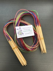Rundsticka, 100 cm/bambu/3,25 mm/ 1 st