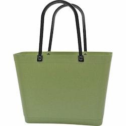 Sweden Bag-Liten/ Green Plastic/ naturgrön/ art nr 219