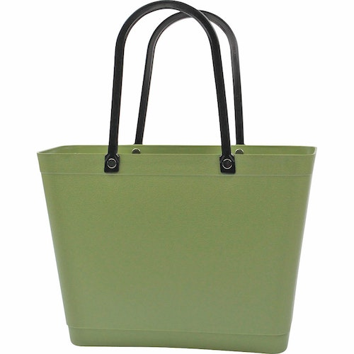 Sweden Bag-Liten/ Green Plastic/ naturgrön/ art nr 219