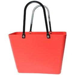 Sweden Bag-Liten/ Green Plastic/ Fiesta röd/ art nr 233