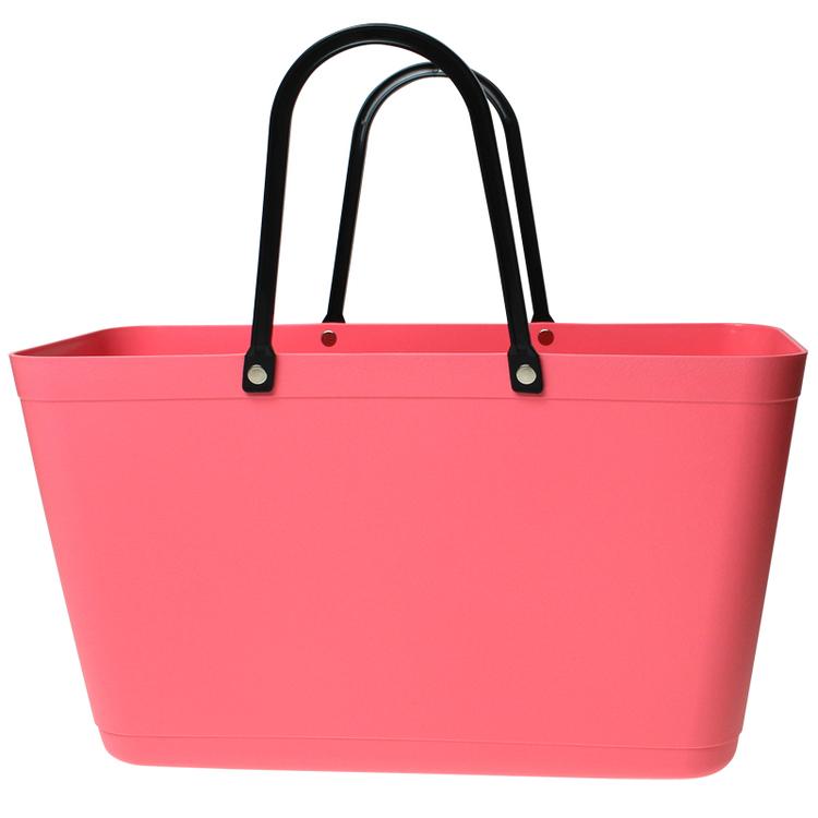 Sweden Bag - Stor/ coral pink/ art nr 130
