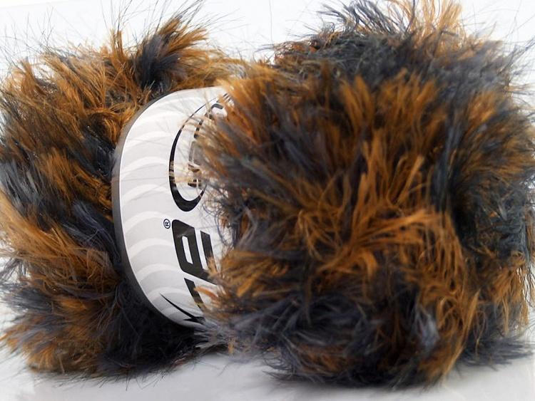 Faux Fur Color, pälsgarn, art nr 1182
