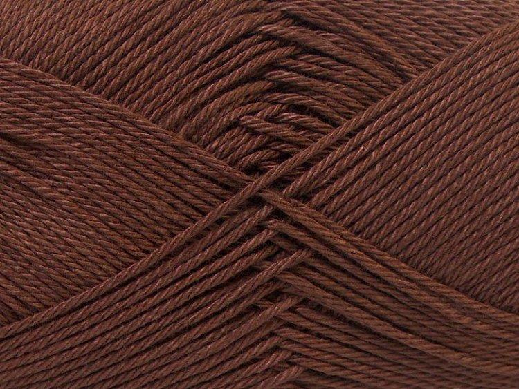 Camilla Cotton, art nr 797/ mörkbrun