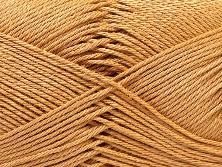 Camilla Cotton, art nr 857/ mörk beige/nyansen heter ljus brun