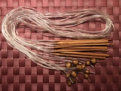 Tunisisk virknål med slang, nr 10 mm