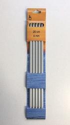 Pony strumpstickor 3 mm aluminium