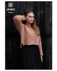 Vardag-strukturstickad tröja, Järbo nr 92644