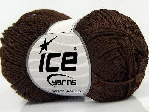 Giza Cotton, art nr 1714/ mörk brun
