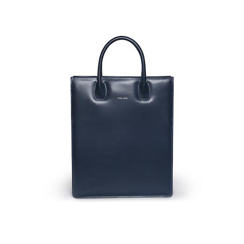 Handväska med axelrem - Blå