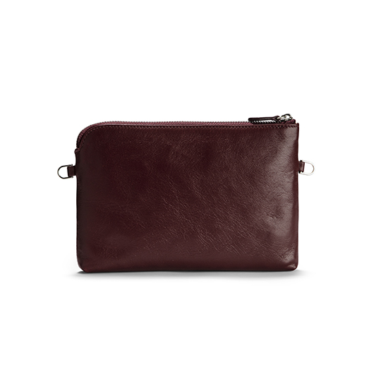 POUCH Burgundy Red