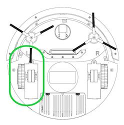 Drivhjul (L) S400