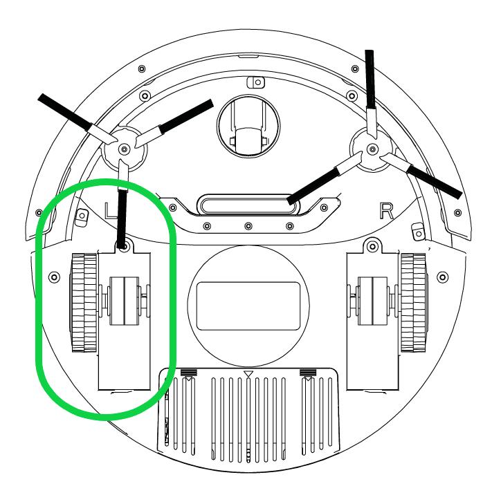 Drivhjul (L) S460