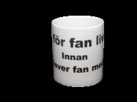 Lev för fan