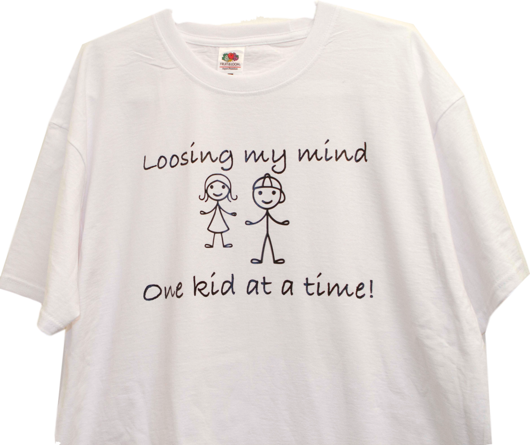 T-Shirt , Loosing my mind