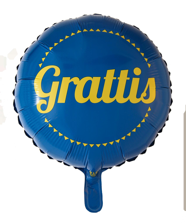 Helium ballong Grattis