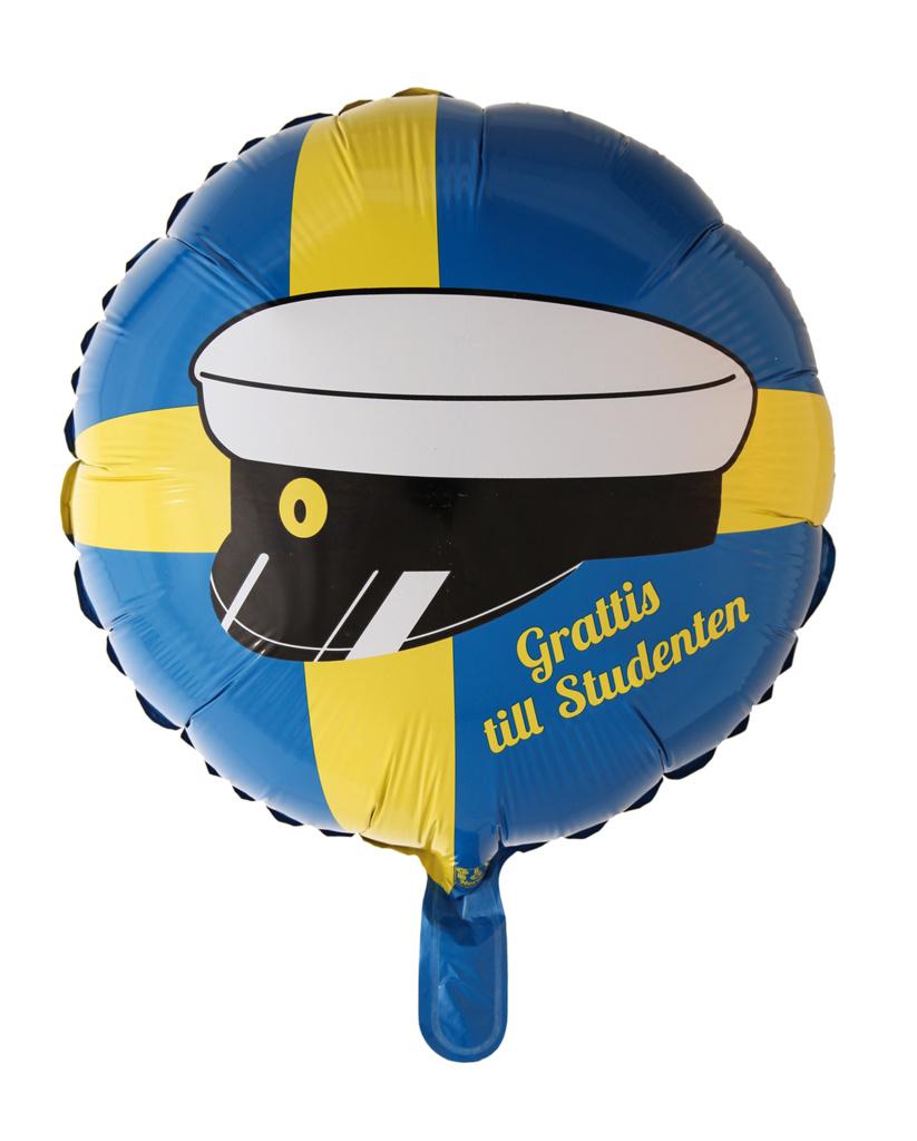 Helium ballong Student