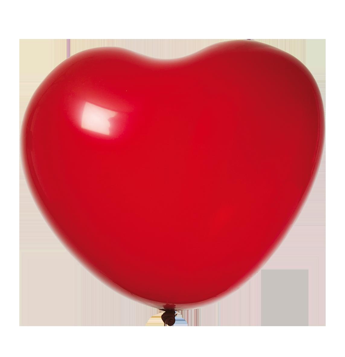 Heliumballong Hjärta