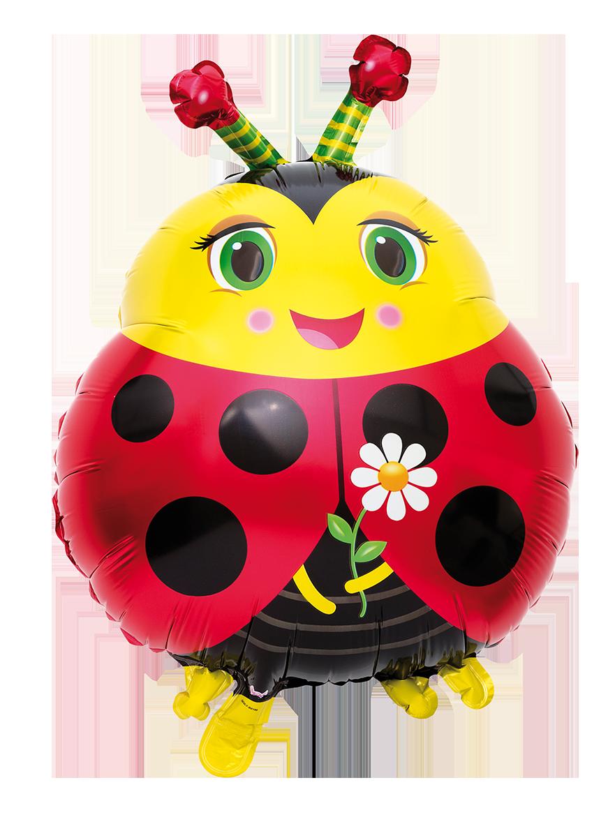 Heliumballong Nyckelpiga