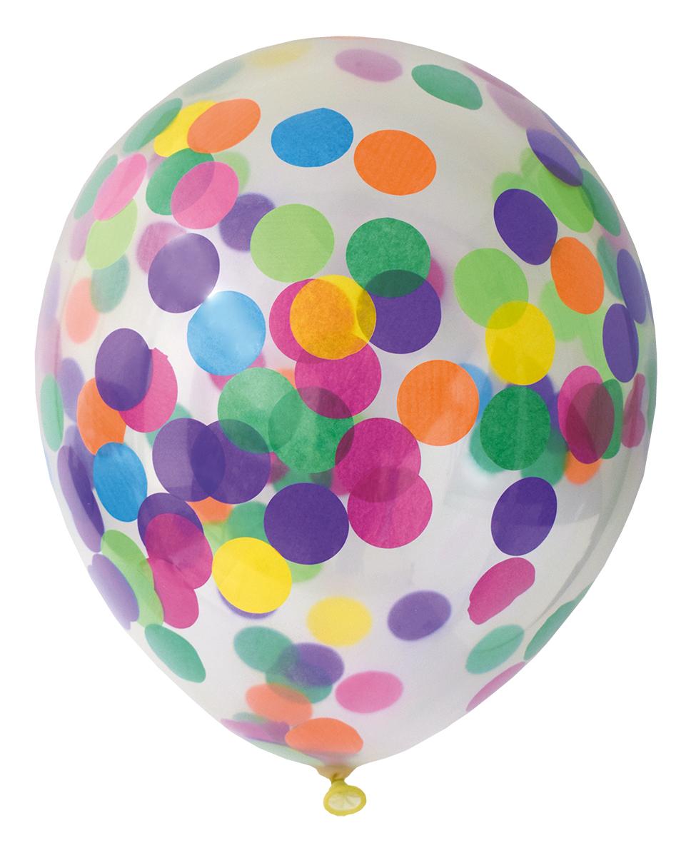 Heliumballong Konfetti