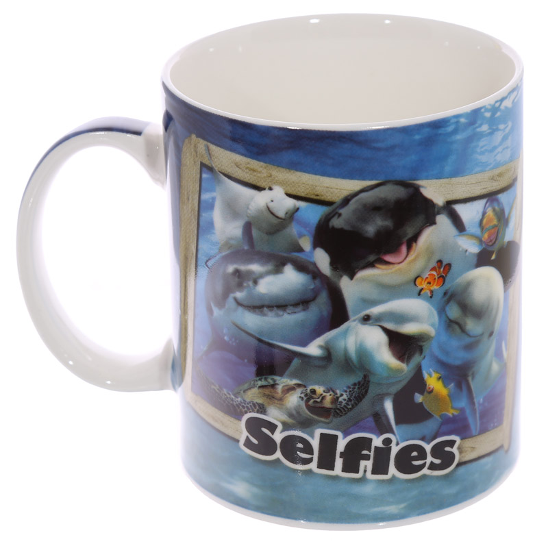 Howard Robinson Selfie Mugg - Benporslin Havsdjur Design