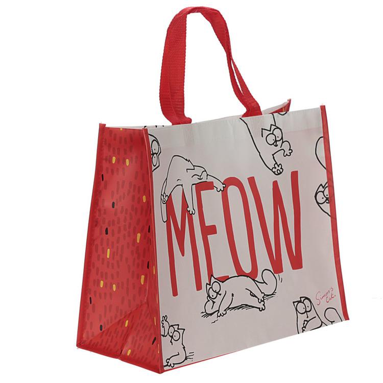 Simon's Cat MEOW Shoppingväska