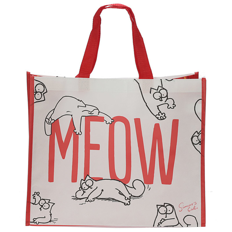Simon's Cat MEOW Shoppingväska