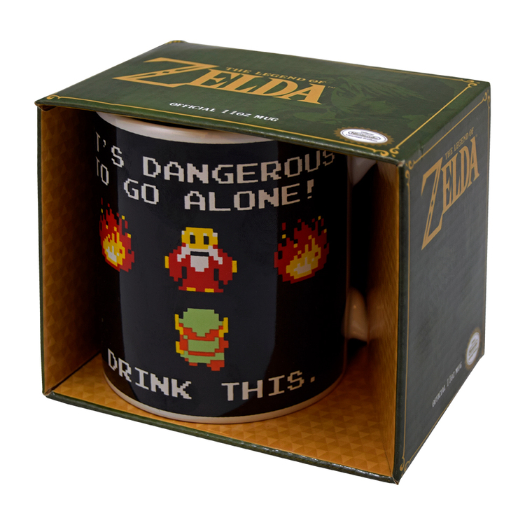The legend of Zelda, mugg i kartong