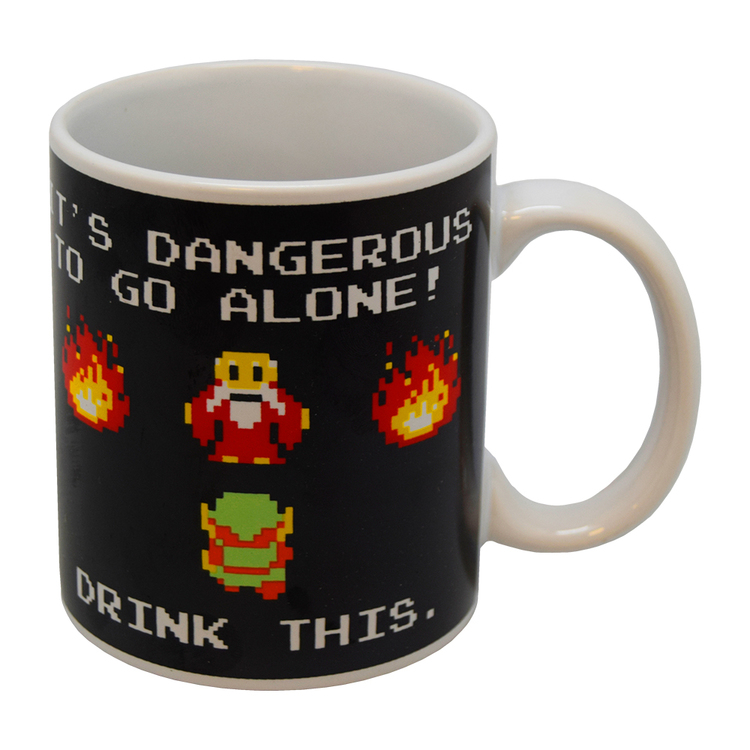 The legend of Zelda (Drink this) mugg