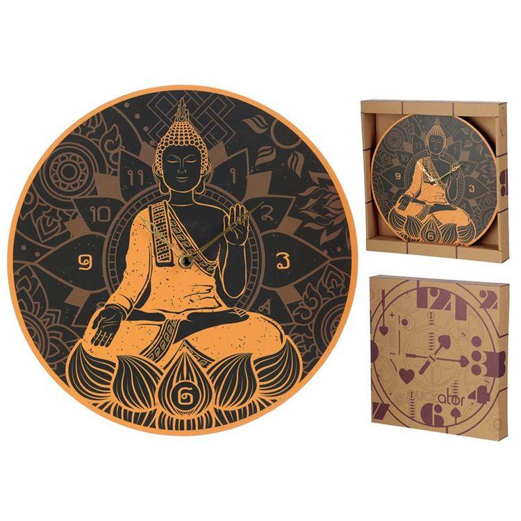 Budda Väggklocka