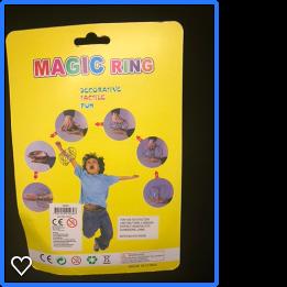 """Rolig leksak för armarna """"Magic Ring"""""""