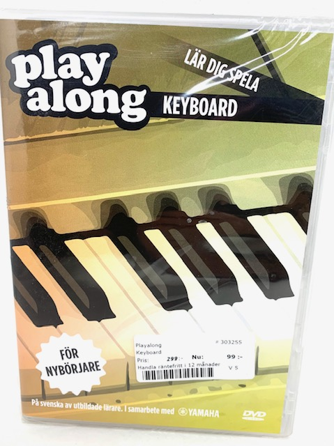 Keyboardkurs dvd playalong