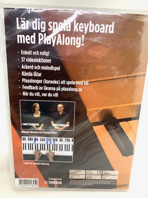 Keyboardkurs dvd playalong