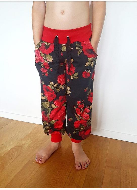 Made by Runi´s Every day cozy pants barn + dam