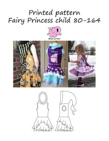 Made by Runi´s Fairy Princess barn stl. 80-164 + add on Fairy princess