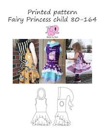 Made by Runi´s Fairy Princess barn stl. 80-164 + add on Fairy princess