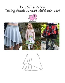 Made by Runi´s Feeling fabulous skirt paket,  barn + dam