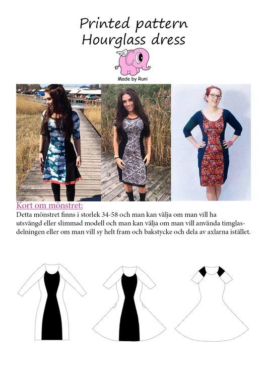 Made by Runi´s Hourglass Dress paket, barn + dam