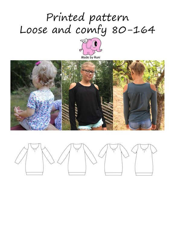 Made by Runi´s Loose and Comfy paket, barn + dam