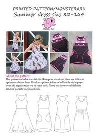 Made by Runi´s Summer dress paket, barn + dam