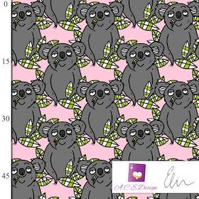 Koala Fairytale pink öglad jogging