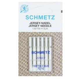 Schmetz Symaskinsnålar Jersey 70/10 \ 90/14 (130/705 H SUK)
