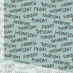 Weekdays Dusty mint