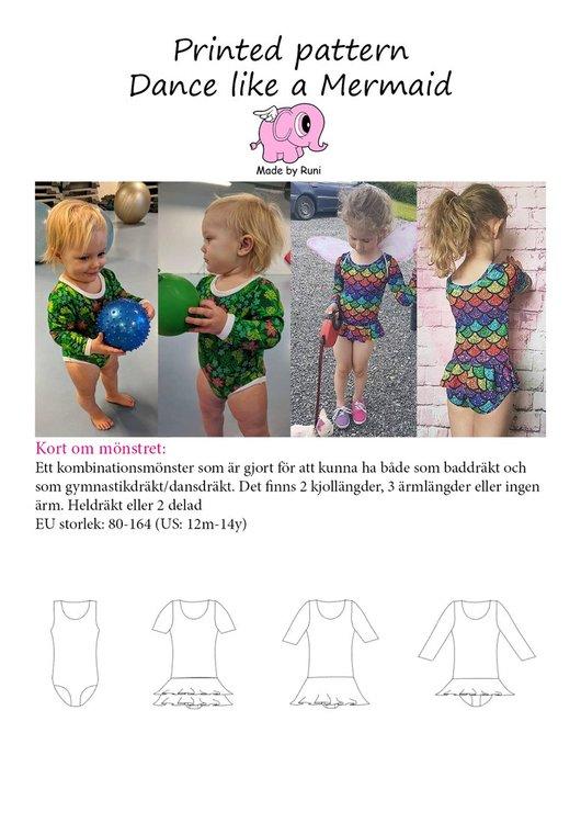 Made by Runi´s Dance Like a Mermaid stl. 80-164