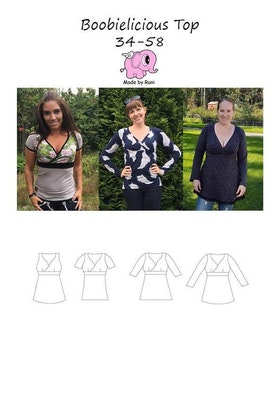 Made by Runi´s Boobielicious Top, stl. 34-58